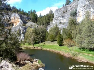 Integral Cañón Río Lobos; viajes fines de semana; senderos madrid;senderismo único